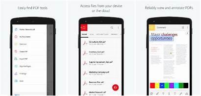Reader Android Pdf Adobe Acrobat Viewer Mobile