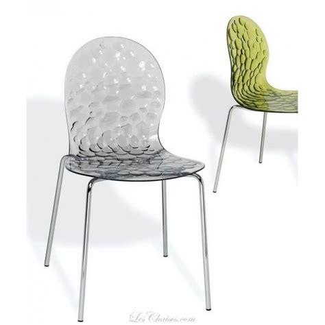 bar le bureau chaises design transparente et chaises transparente
