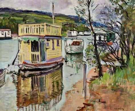 Houseboat Scotland houseboats loch lomond art uk