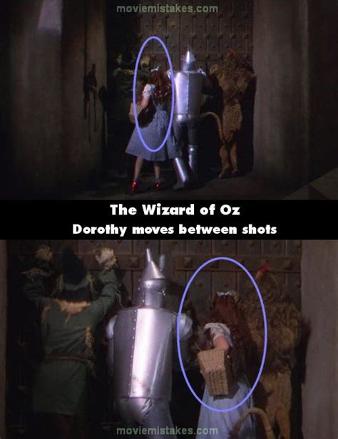 wizard  oz   mistake picture id