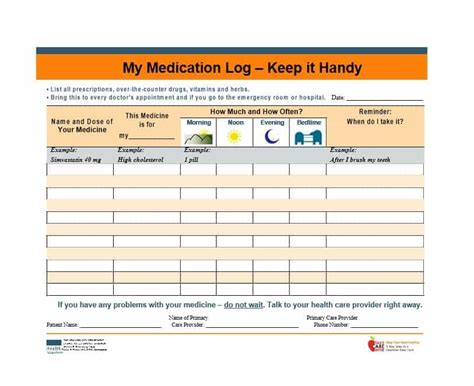 Medication profile template costumepartyrun 58 medication list templates for any patient word excel maxwellsz