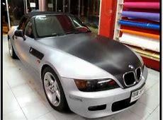 Wrap BMW Z3 เคฟล่าบรอนรอบคัน by Autocar wrap YouTube