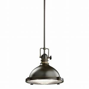 Kichler hatteras bay light pendant aco antique