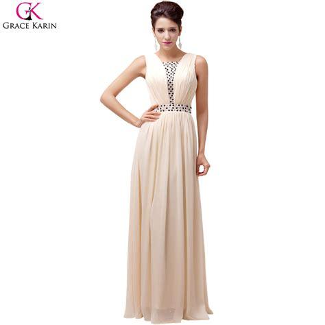 Grace Karin Women Long Evening Dresses A line Summer Formal Party Dress Evening Gowns Wedding ...