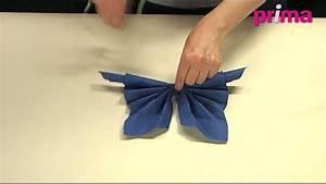 Pliage Serviette En Papier : pliage de serviette original papillon art de la table ~ Melissatoandfro.com Idées de Décoration