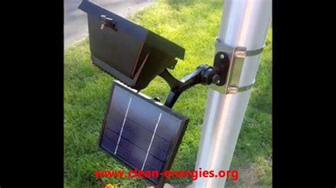 commercial solar outdoor lighting commercial solar flagpole light solar sign light youtube