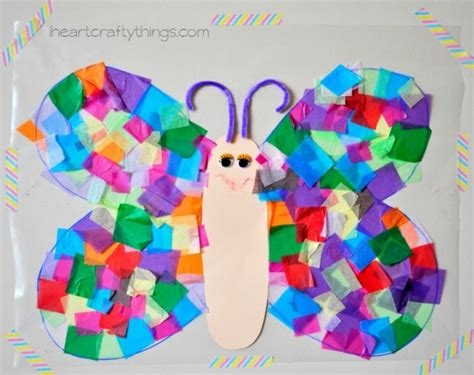 butterfly crafts      kids cool crafts