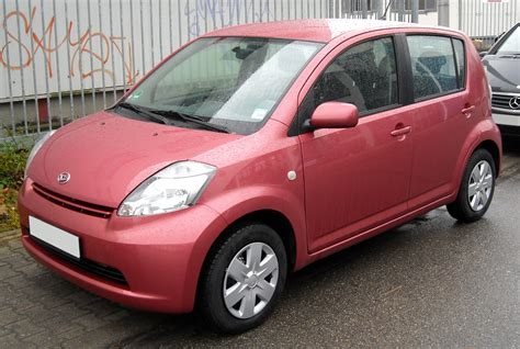 Daihatsu Sirion Picture by Daihatsu Sirion Photos Informations Articles