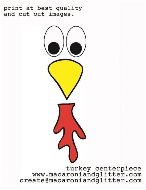 Turkey Template Clipart by Turkey Beak Clipart Clipart Suggest