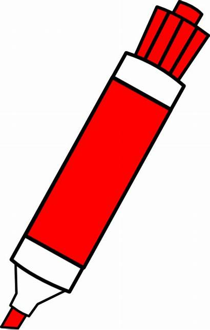 Marker Clipart Erase Dry Markers Cliparts Clip