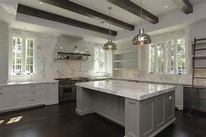 Gray Kitchen Cabinets - Contemporary - kitchen