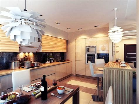 ideas for kitchen lights modern chic kitchen lighting ideas jpg