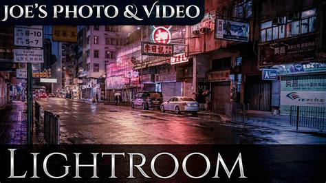 cinematic color toning street photography lightroom