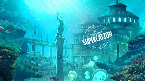 dc universes summer supercation week  atlantis