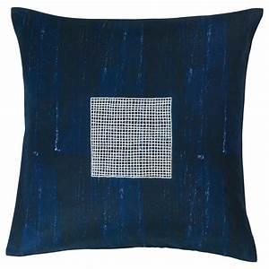 Housse De Coussin 30x30 : inneh llsrik housse de coussin fait main bleu 50x50 cm ikea ~ Dailycaller-alerts.com Idées de Décoration