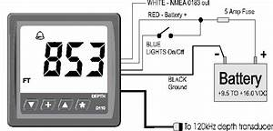 Cruzpro D110 1000  Foot Dsp Depth Sounder With Alarms
