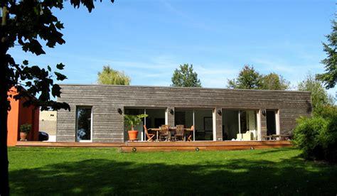 maison d architecte construite en bois besan 231 on brulet architecte