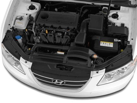 Hyundai Santa Fe Engine Size by Image 2009 Hyundai Sonata 4 Door Sedan I4 Auto Gls Engine