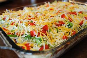 Mexican 5 Layer Dip Recipes Dishmaps