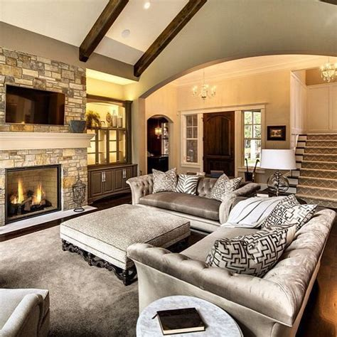 Living Room Setup With Corner Tv by Effective Living Room Layouts For Your Fireplace And Tv