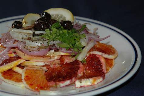 recette de cuisine italienne salade d 39 orange recette de la cuisine italienne