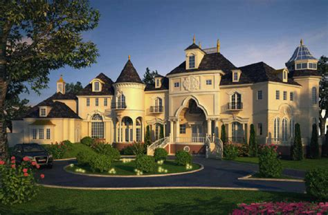 Castle Luxury House Plans, Manors, Chateaux And Palaces In