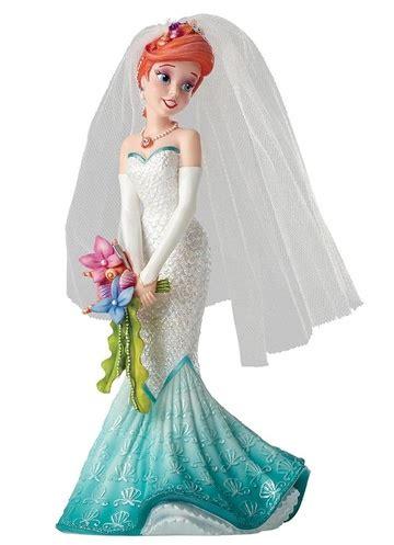 disney showcase collection ariel couture de force bride