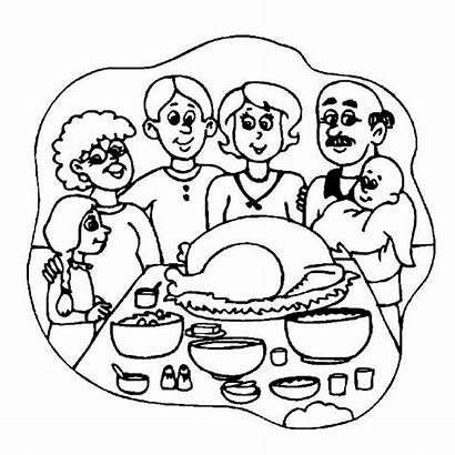 Coloring Thanksgiving Dinner Pages Whole Eating Printable