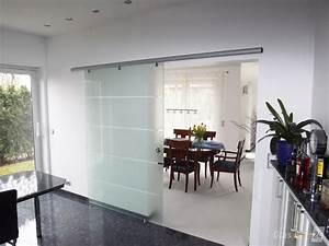 Raumteiler Aus Glas : glasschiebet r mit alu beschlag glasprofi24 ~ Frokenaadalensverden.com Haus und Dekorationen
