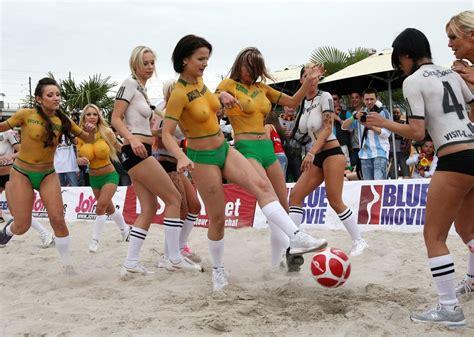 nude soccer