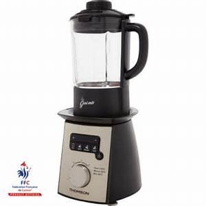 Blender Chauffant Recette : thomson soup maker geni mix livre de recettes blender chauffant boulanger ~ Louise-bijoux.com Idées de Décoration