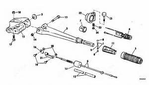 Evinrude 1983 55 - E55rsn-2  Steering Handle