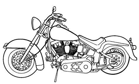 Kleurplaat Harley Davidson by Luxurious Harley Davidson Coloring Page