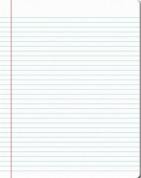 notebook paper template for word 10 best images of notebook template for word printable notebook paper template for word