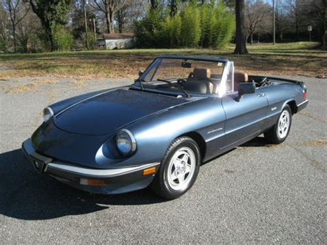 Sell Used 1986 Alfa Romeo Spider Veloce 115k New