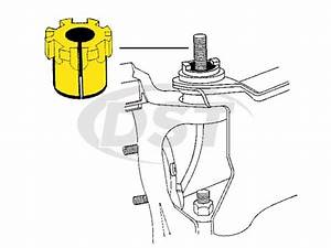 Moog-k8969 - Front Caster Camber Bushing  4 Degrees Of Adjustment Made By Moog