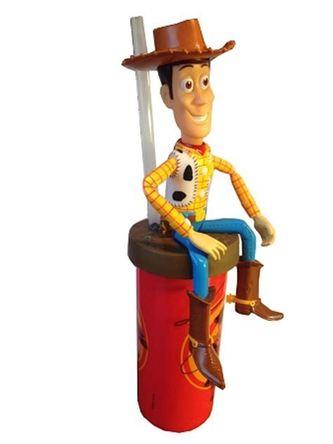 Disney Articulated Cup with Straw   Woody   Toy Story