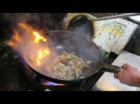 cuisine wok non stick cooking in wok