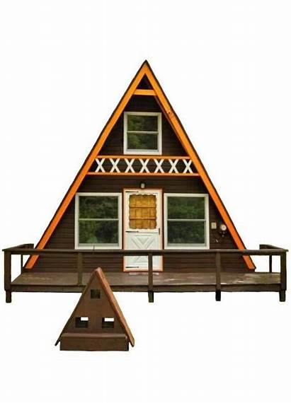 Cabin Frame Plans Story Tiny Building Vacation