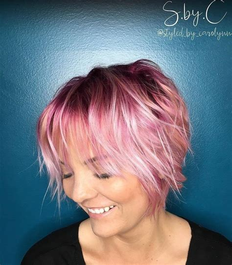 65 Devastatingly Cool Haircuts For Thin Hair Pink