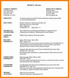 Undergraduate Student Resume Sample uxhandy