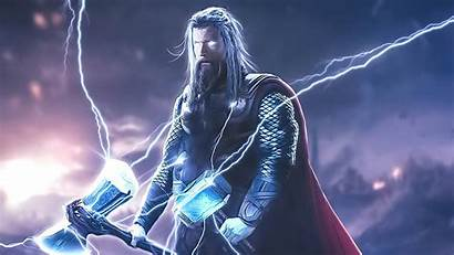 Thor 4k Hammer Wallpapers Superheroes Artwork Artist
