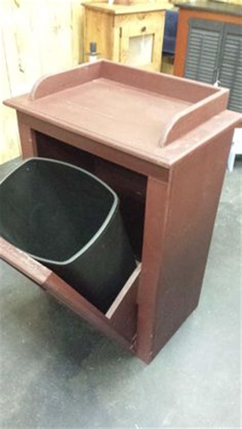 wooden trash  plans woodworking projects plans