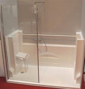 Transformer Baignoire En Douche : transformer sa baignoire en douche sur mesure la ~ Dallasstarsshop.com Idées de Décoration