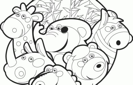 baby zoo animal coloring pages  images zoo animal