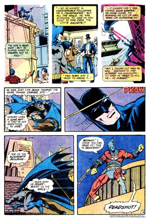 comic book page detective comics 474 marshall rogers cover pencil ink