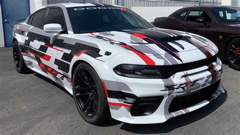 dodge charger widebody spied undisguised  promo