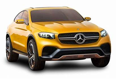 Mercedes Benz Yellow Glc Coupe Transparent Cars