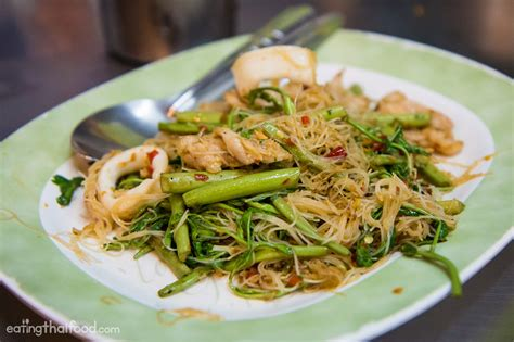 mimosa cuisine try the water mimosa noodles at saw nah wang ร าน ส