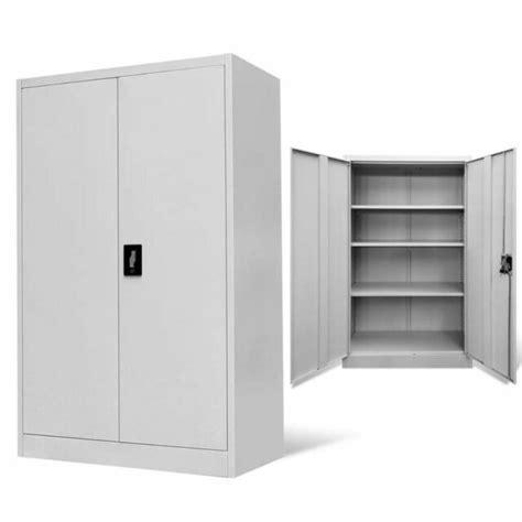 vidaxl office filing cabinet locker  door steel file